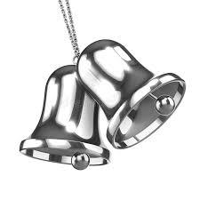 3d silver bells stock illustration image of yule december 46173538