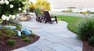 a contemporary cottage gnome landscape design masonry