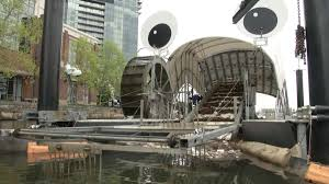 mr trashwheel baltimore u0027s garbage gobbler reuters com