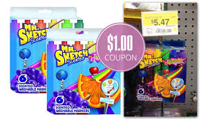 mr sketch scented markers as low as 4 47 at walmart