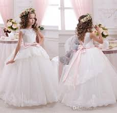 off shoulder lace ball gown net baby birthday party christmas