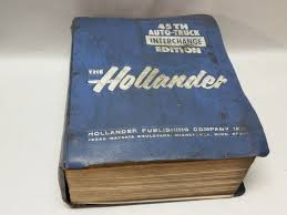 hollander 45th edition auto truck interchange manual u003d heavy