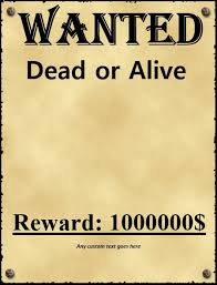 wanted poster template highwayman wanted poster cowboy wanted