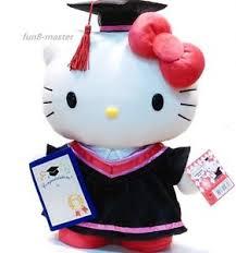 hello graduation 13 5 inch sanrio hello graduation gift plush doll stuffed