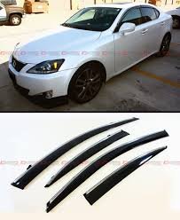 2014 lexus is350 jdm 06 2013 lexus is250 is350 is f jdm vip style clip on smoke tinted