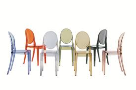 victoria ghost chair by philippe starck for kartell space furniture