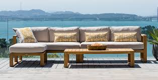 Patio Furniture Couch by Outdoor Deep Seating Terra Patio U0026 Garden Teak Furniture