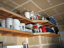 home decor furniture cool garage shelving ideas with overhead