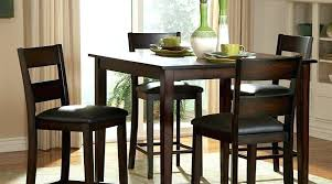 black counter height table set awesome high dining room tables top table set pleasant griffin 5