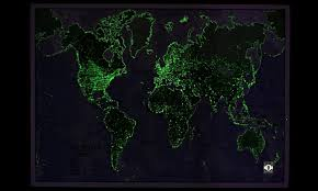 glow in the dark poster glow in the dark world map wall poster groupon