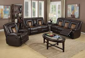 Reclining Sofa And Loveseat by Pluto Chocolate Reclining Sofa And Loveseat Living Room Set