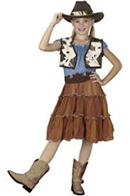 Cowgirl Halloween Costumes Adults Amazon Cowgirl Child Costume Medium Toys U0026 Games