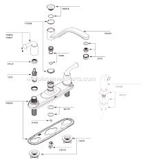 moen single handle faucet repair 7400 parts diagram delta kitchen moen 7400 kitchen faucet repair diagram awesome moen ca87552 parts