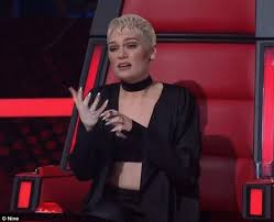 jessie j is moved by the voice australia contestant mitchell as he