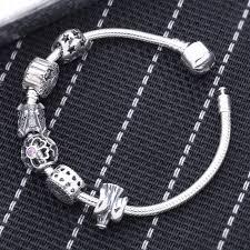 pandora classic bracelet images Original beads fit pandora bracelet 925 sterling silver fairytale jpg
