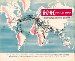 South African Airways Route Map by Darwin International Airport