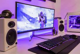 Livingroom Pc by Ideas About Gaming Setup On Pinterest Computer Monitor And Pc Idolza