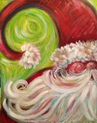 whimsy santa sparkle christmas exchange party pinterest