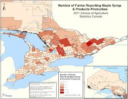 Ontario Canada Map 2011 Census Of Agriculture Maps Farm Type