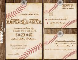 baseball wedding invitations lovely vintage baseball wedding invitations vintage wedding ideas