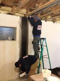 structural foundation repair carbon fiber vs wall anchors