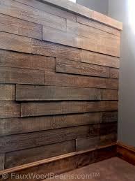 faux wood panels creative faux panels