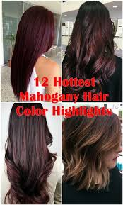 mahoganey hair with highlights 12 hottest mahogany hair color highlights for brunettes hair