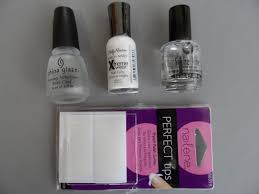 notd the diy french manicure 1st attempt