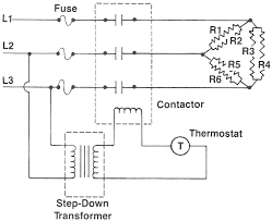 3 phase heater wiring diagram for trane 3 wiring diagrams