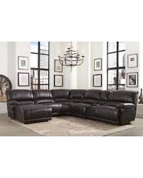 Abbyson Sectional Sofa On Sale Now 10 Abbyson Cooper 6 Brown Sectional