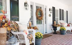 simple is good my favorite easy fall decorating ideas worthing