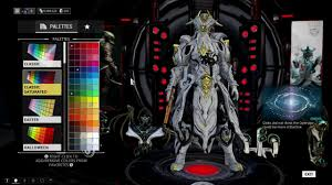 warframe hydroid prime color schemes