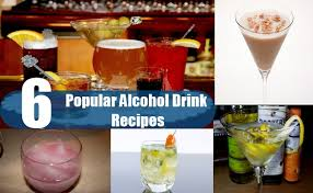 6 most popular alcohol drink recipes homemade alcohol drink