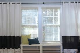 How To Make Curtains Longer Before And After Photos Nautical Bedroom Knock It Off The