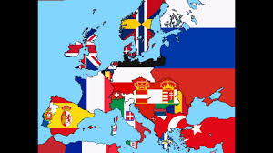 Europe Flags Flags Of Europe From 1800 To 2016 Youtube
