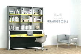 bureau bibliothèque intégré bibliotheque bureau integre plus bureau lit bibliotheque avec bureau