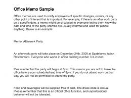 Business Letter Memorandum Example Letter Of Memorandum