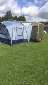 Side Awning Tent Iveco Campervan With Side Awning Tent In Hounslow London Gumtree