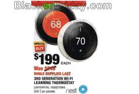 black friday leak home depot nest thermostat black friday 2017 sale u0026 deals blacker friday