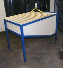 used ceramic pouring table for the studio a slip casting table christie s studio diys