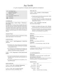 Resume Sample Usa by Stunning Sample Resume Format For Fresh Graduates One Page