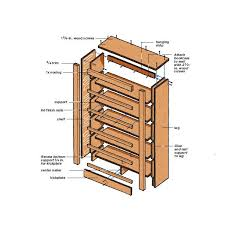 Free Woodworking Plans Bookshelves by Free Woodworking Plans Bookshelf Home Woodworking Ideas