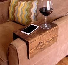 bedroom extraordinary pretty sofa arm tray bendable table