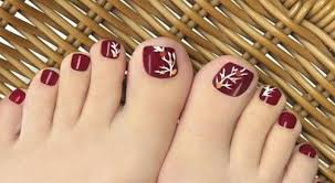 autumn toe nail designs ideas 2017 fall nails fabulous