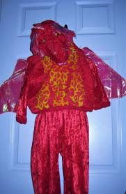 Toddler Dragon Halloween Costumes Red Dragon Halloween Costume Toddler 24 Month 2t Ebay