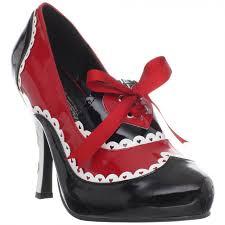 queen of hearts 4 inch heel womens pump alice wonderland costume