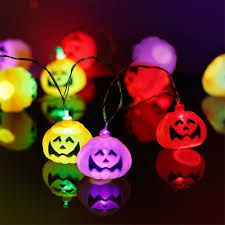 amazon com halloween pumpkin lantern set 2 packs 10 foot