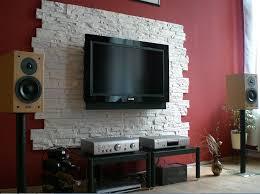 naturstein wohnzimmer stylische naturstein wohnzimmer mit steinwand selber machen