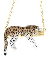 boucle d oreille leopard leopard necklace u010 nach bijoux