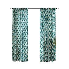 shop solaris trellis 108 in teal polyester back tab light